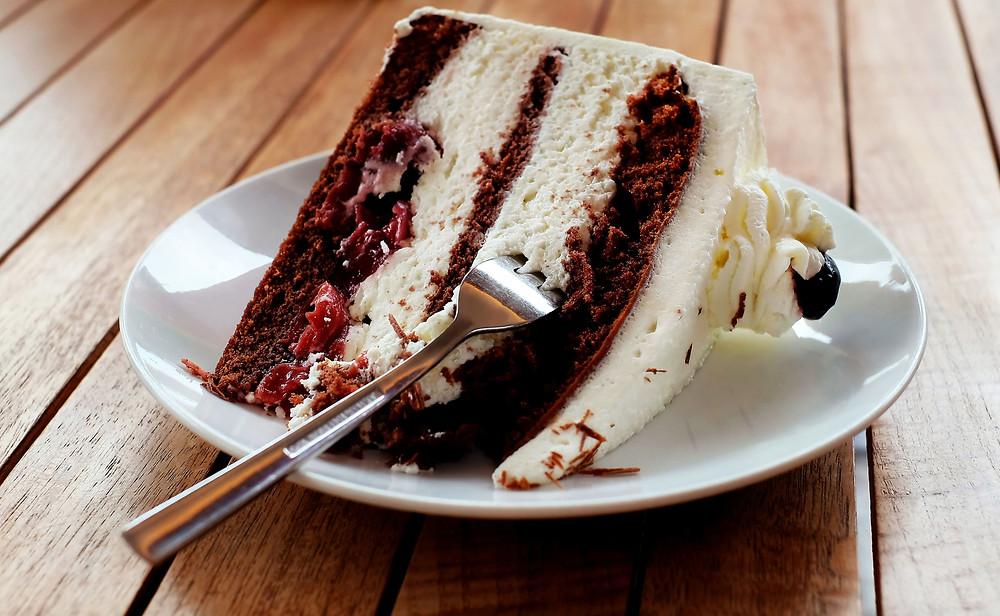 Schwarzwälder Kirschtorte black forest cake
