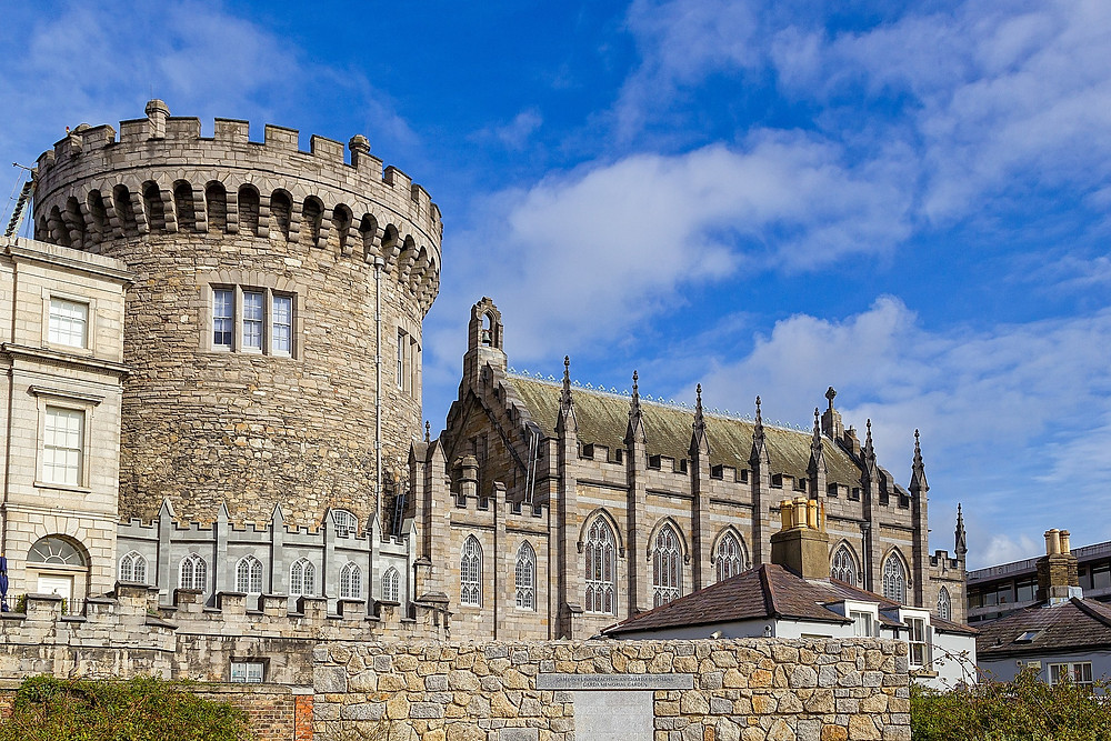dublin castle ireland free stock photo