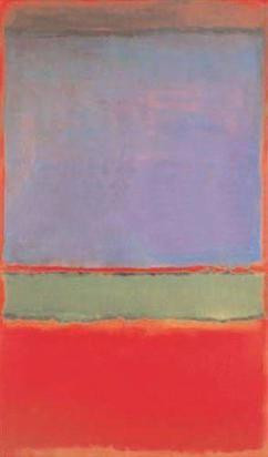 no. 6 violet green and red mark rothko painting
