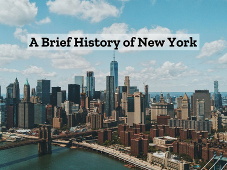 A Brief History of New York