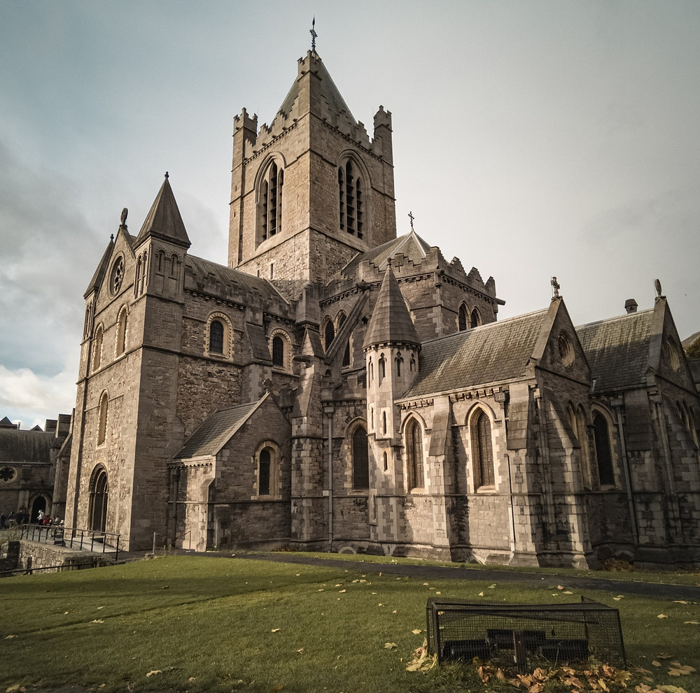 christ church cathedral ireland free stock photo