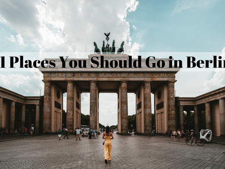 11 Places You Should Go in Berlin