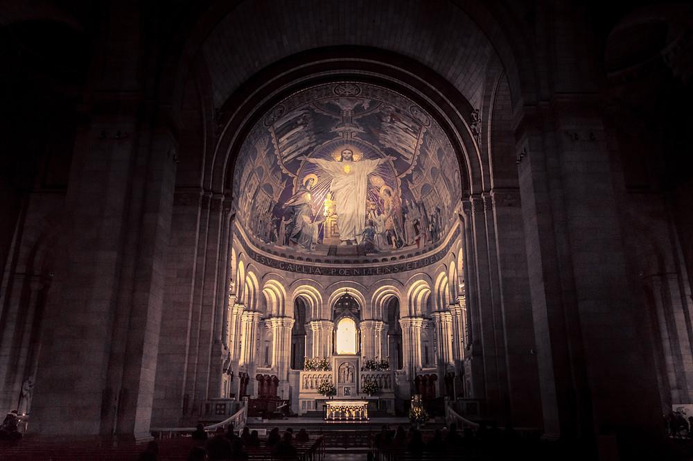 Sacré-Cœur is a basilica