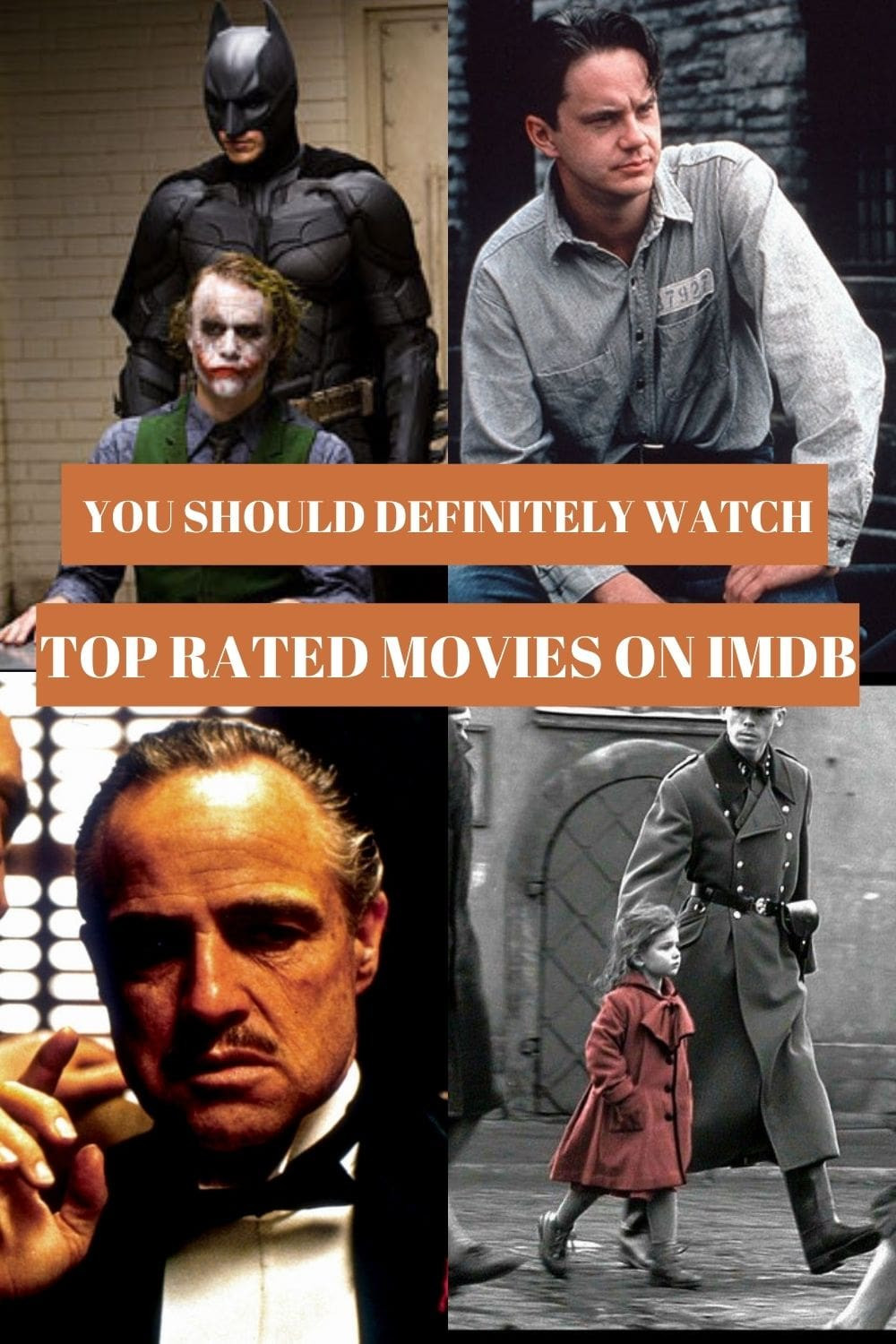 Top Rated Movies on IMDb - 6 High rated movies