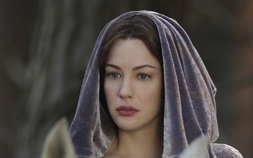 """Arwen's """"dead robe"""""""