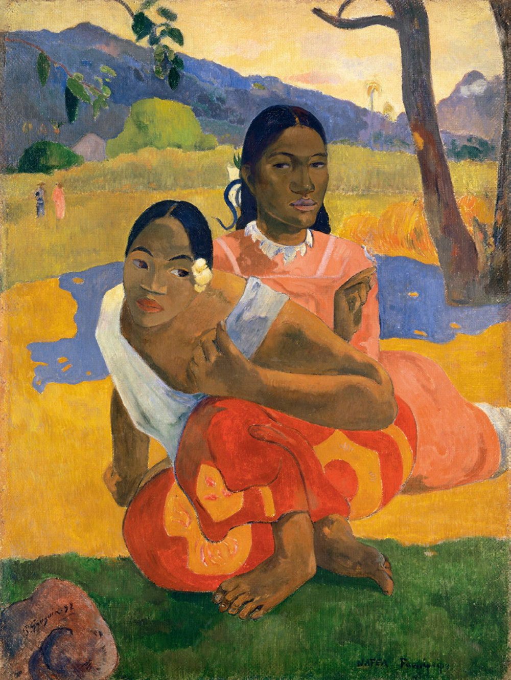 nafea faa ipoipo paul gauguin painting