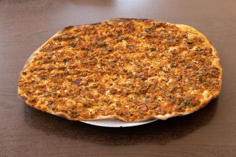 lahmacun turkish pizza photo
