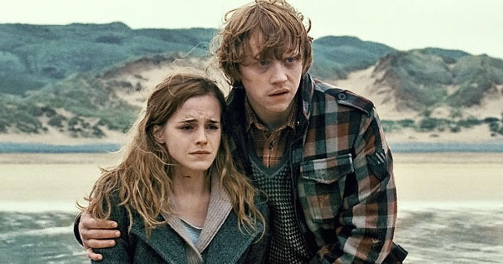 ron and hermione harry potter