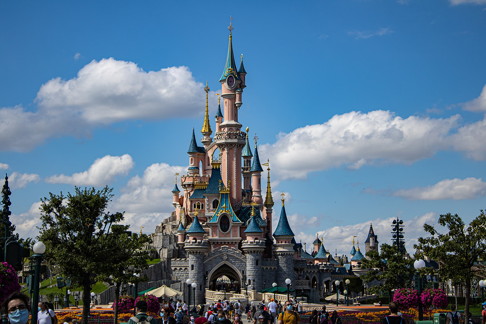 Disneyland Paris is a huge amusement park and the second Disneyland park to open outside the United States