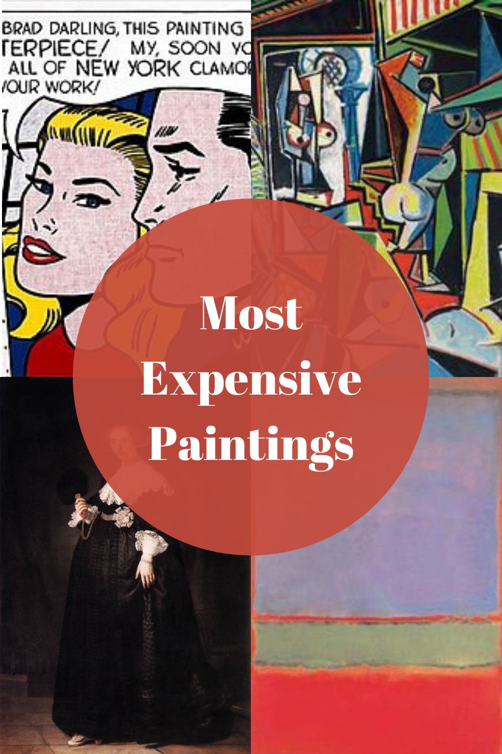 Astronomical Numbers - 10 Most Expensive Paintings