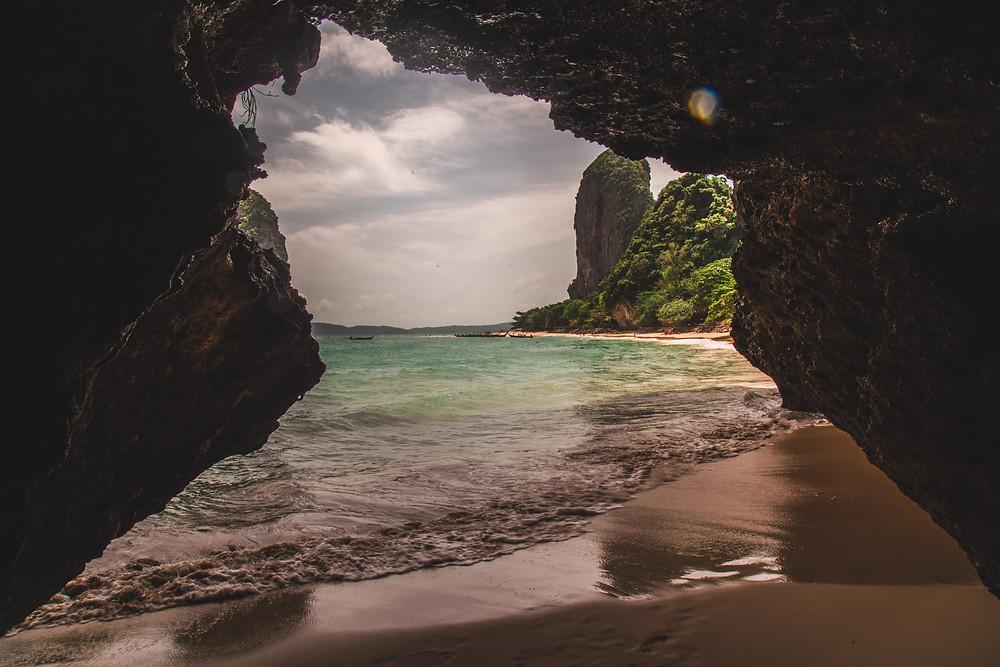 Railey West Krabi Thailand beach view photo