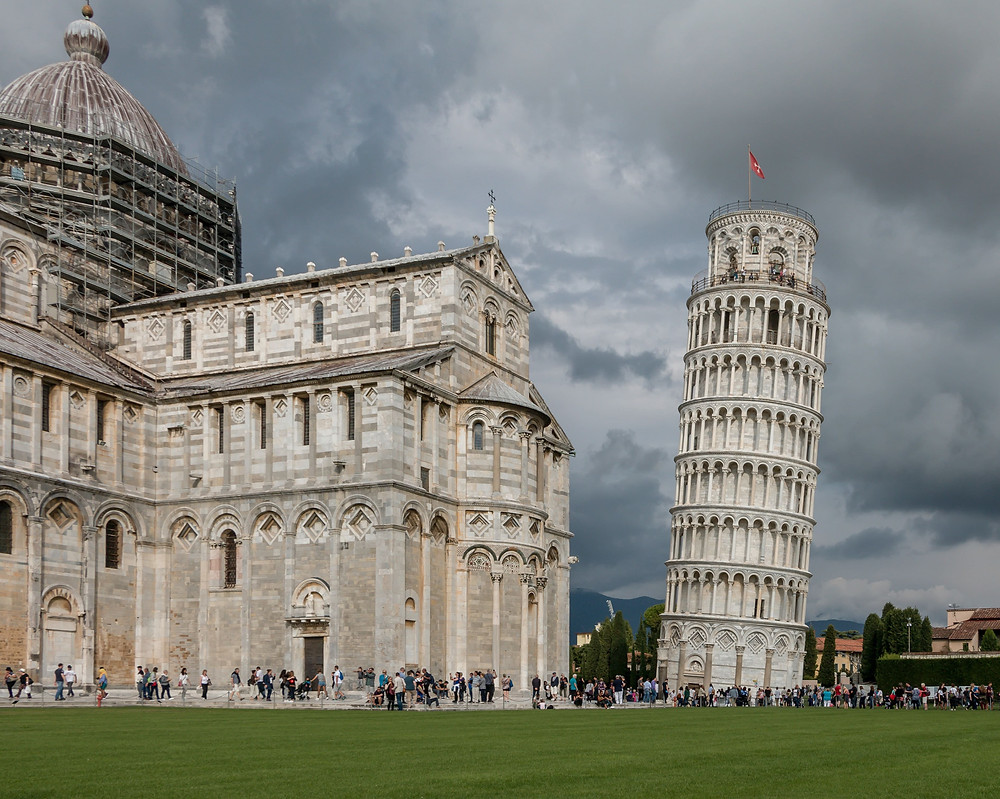 The Leaning Tower of Pisa is located in the city of Pisa in the Tuscany region of northern Italy