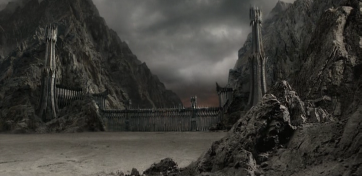 Black Gate lord of the rings