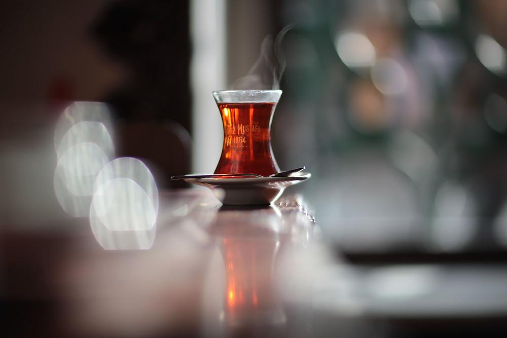 turkish coffee and turkish tea drinks