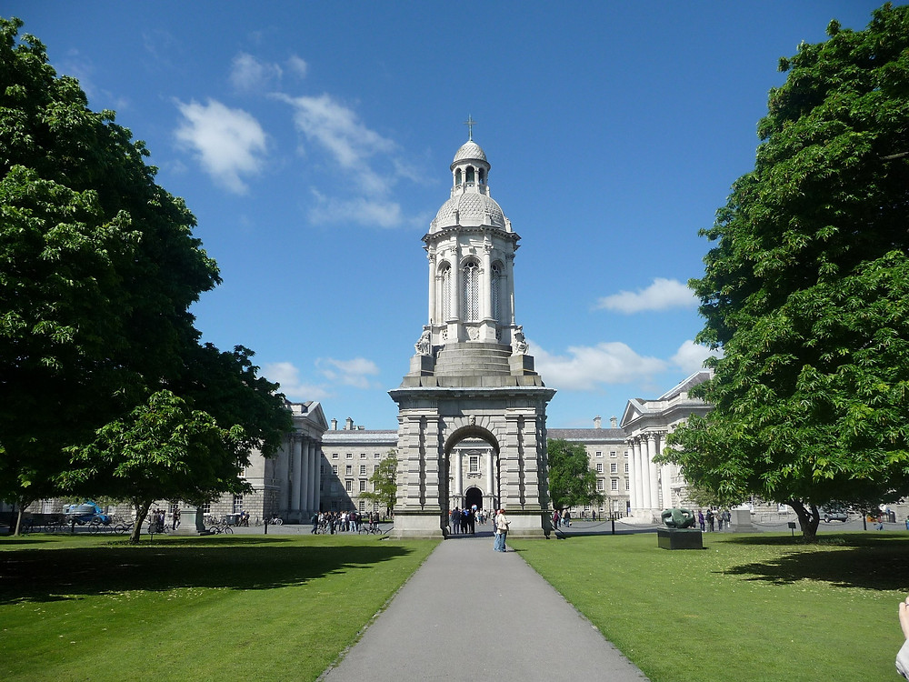 trinity college dublin ireland photo