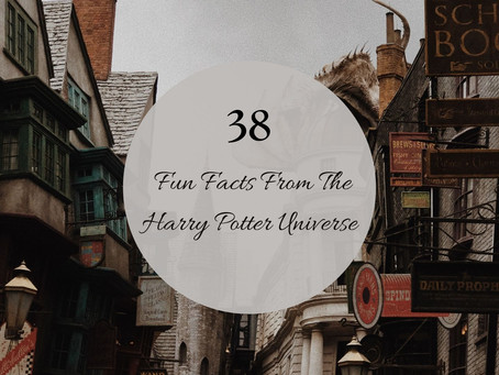38 Little-Known Facts About The 'Harry Potter' Series