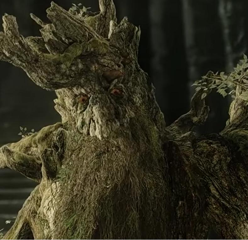 ohn Rhys-Davies also voiced Treebeard