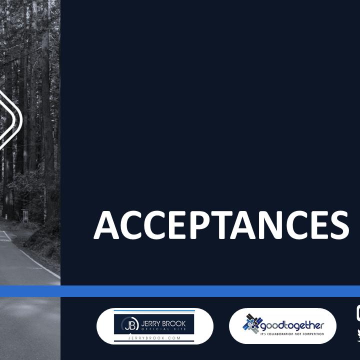 Relationship Workshop - Acceptances