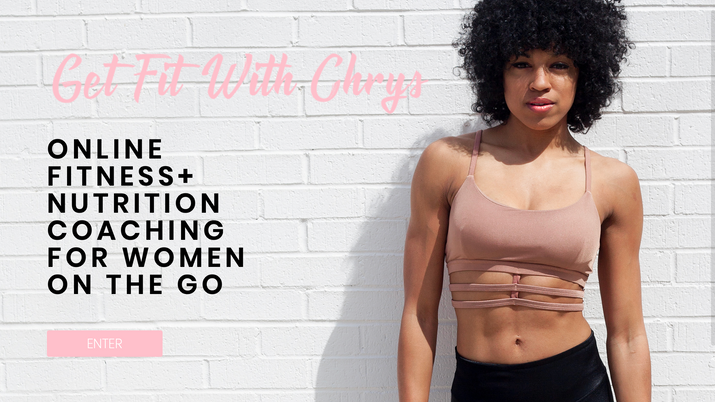 get fit with chrys site