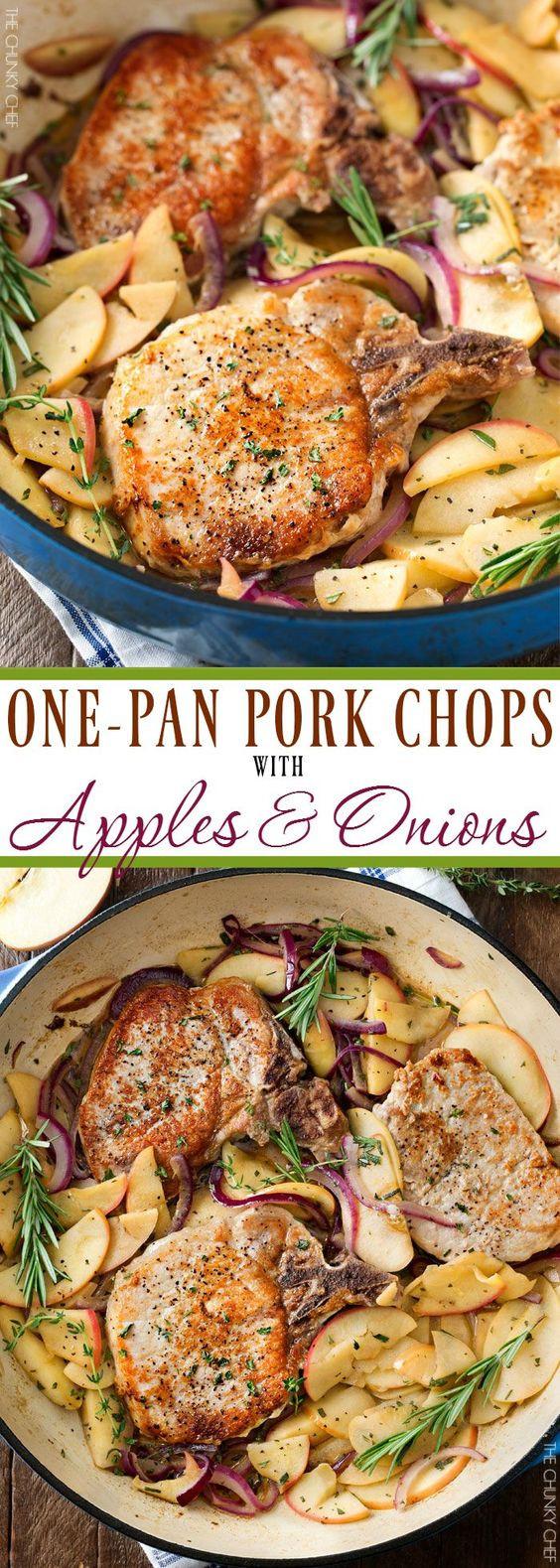 One-Pan Pork Chops