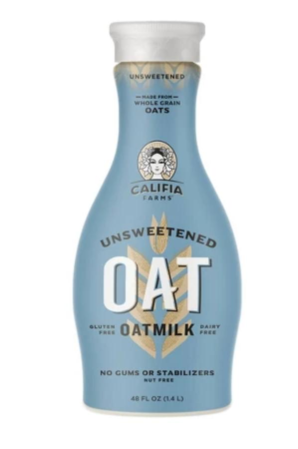 Unsweetened oat milk