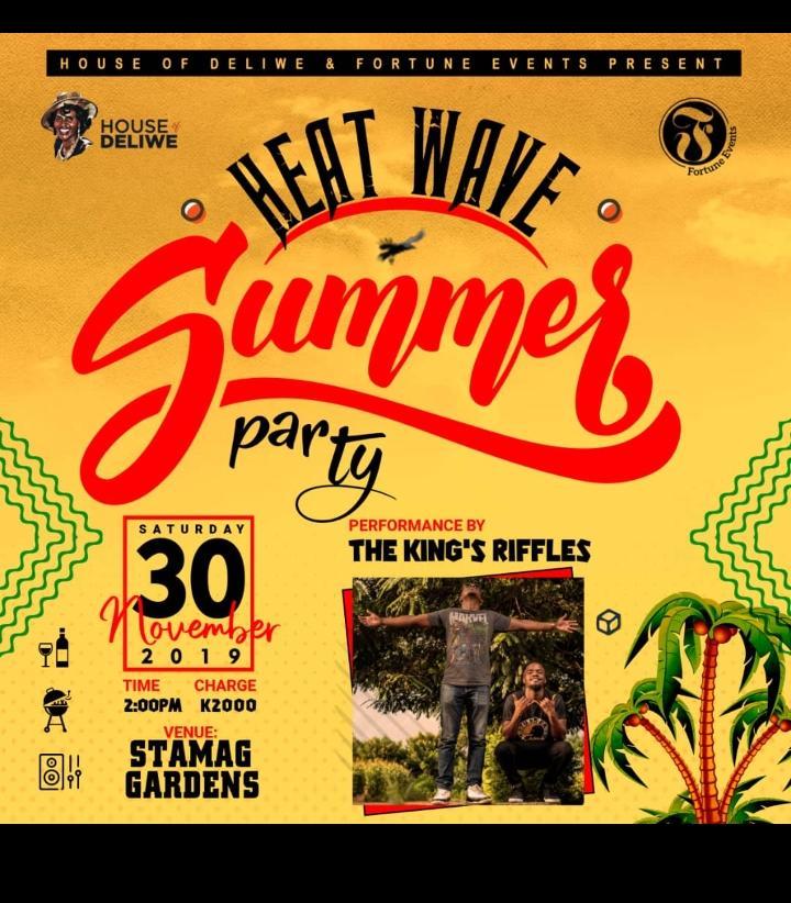 Heatwave Summer Party