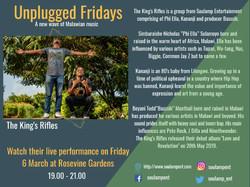 Unplugged Fridays