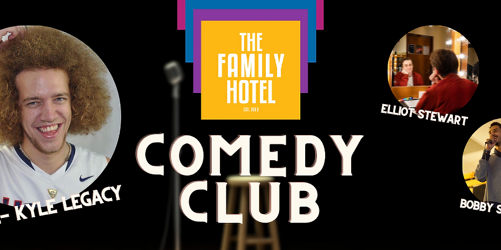 Comedy Club with Kyle Legacy