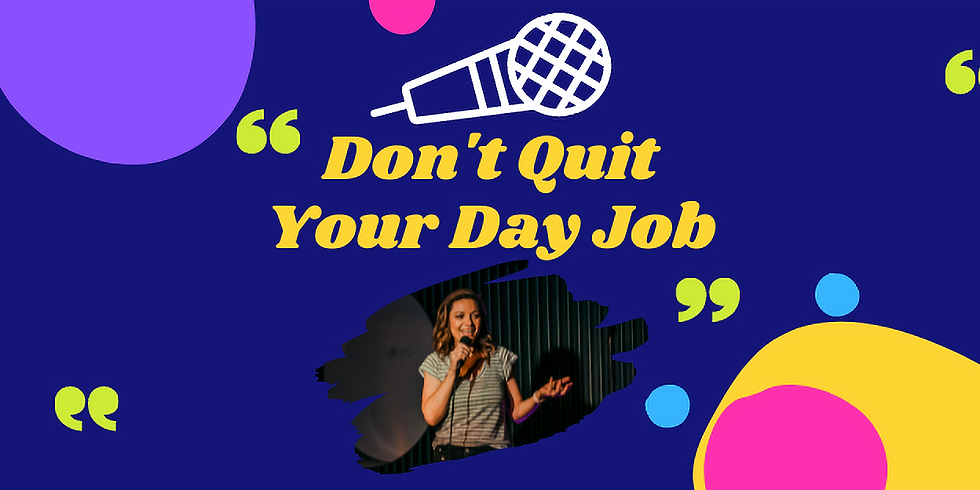 Don't Quit Your Day Job with Christina Van Look