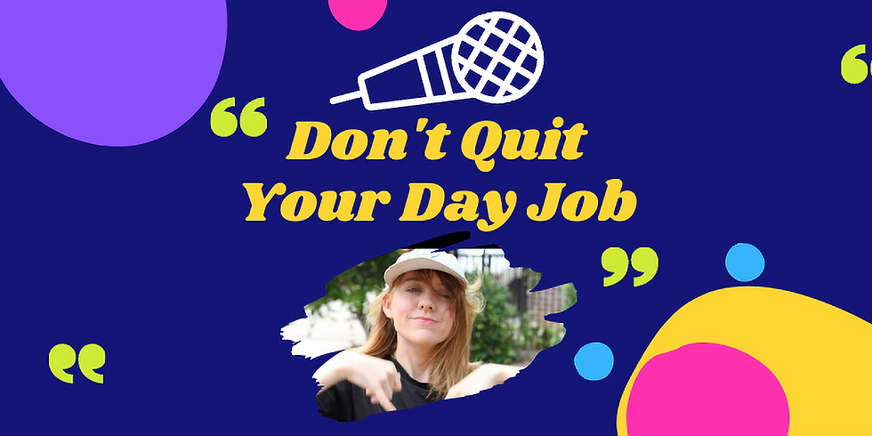 Don't Quit Your Day Job with Sian Smyth