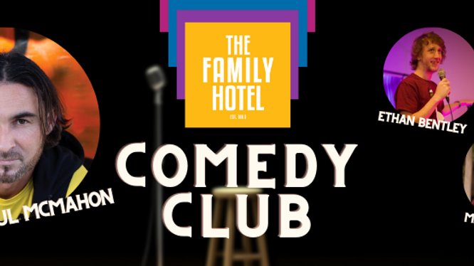 Comedy Club with Paul McMahon