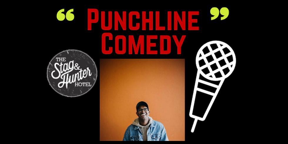 Punchline Comedy with Rowan Thanbar