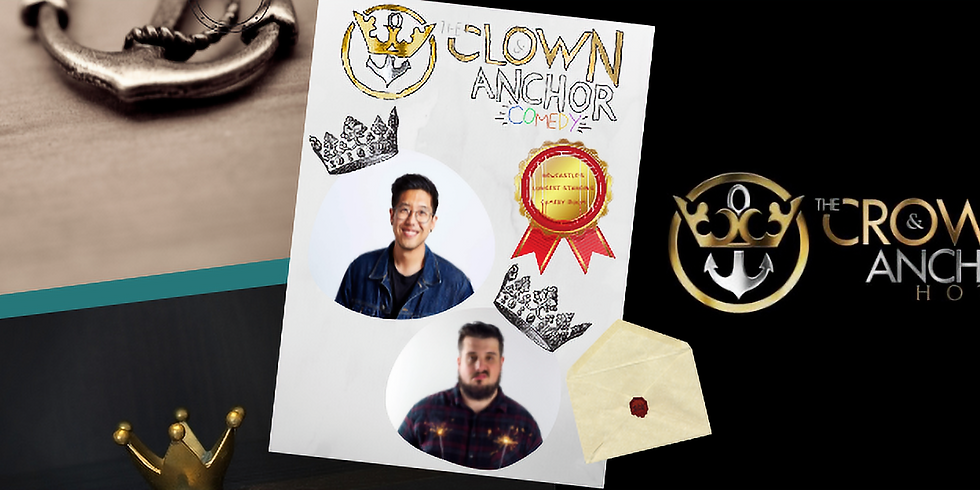Clown and Anchor Comedy with Harry Jun