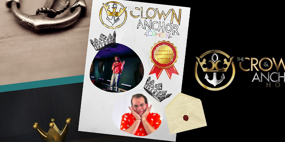 Clown and Anchor Comedy with Charlie McCann
