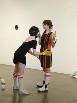 Velcro Dress_Jackie Dunbar and Sarah Riley