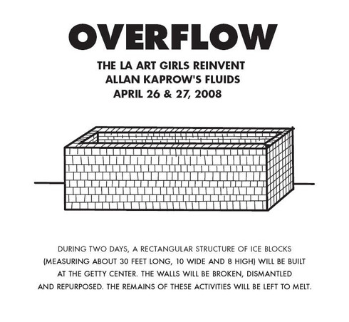 Overflow Poster - Leigh MaCarthy