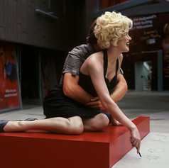 Untitled_Embracing Marilyn