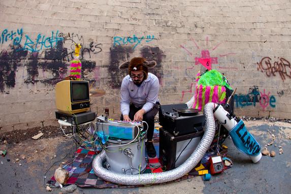 Electronic artist Stephen Fiche