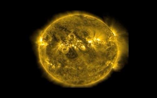 Rotating Sun (N.A.S.A.)