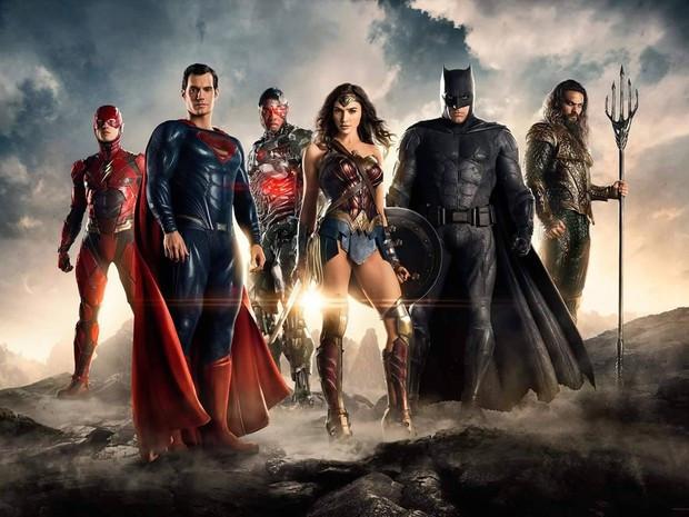 Liga da Justiça, primeira imagem oficial divulgada