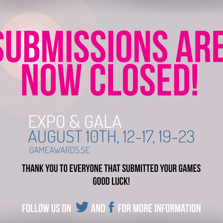 Submissions are now closed!