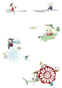 Illustrationen für Webseite