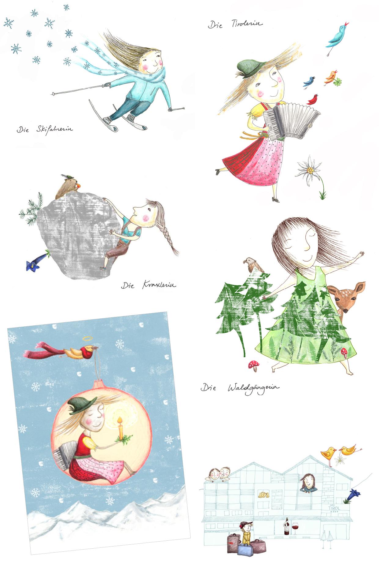 Zimmergestaltung & Weihnachtskarte