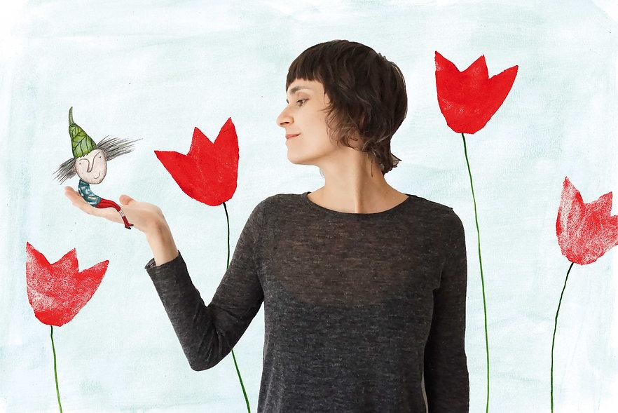 Monika Maslowska Illustration Tirol Wolkenzoo Geschenkartikel Zwutschg