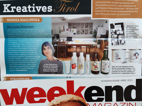 Wolkenzoo im Weekend Magazin!
