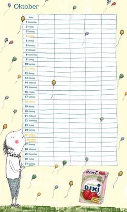 Illustration & Gestaltung Kalender