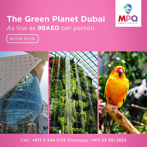 The Green Planet Dubai
