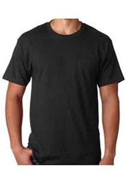 hanes-black-tshirt-for-men-uinisex-short