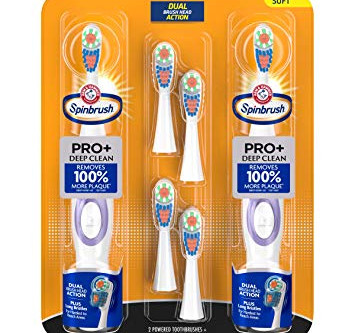 Why use a spin-brush when a regular toothbrush is more affordable?