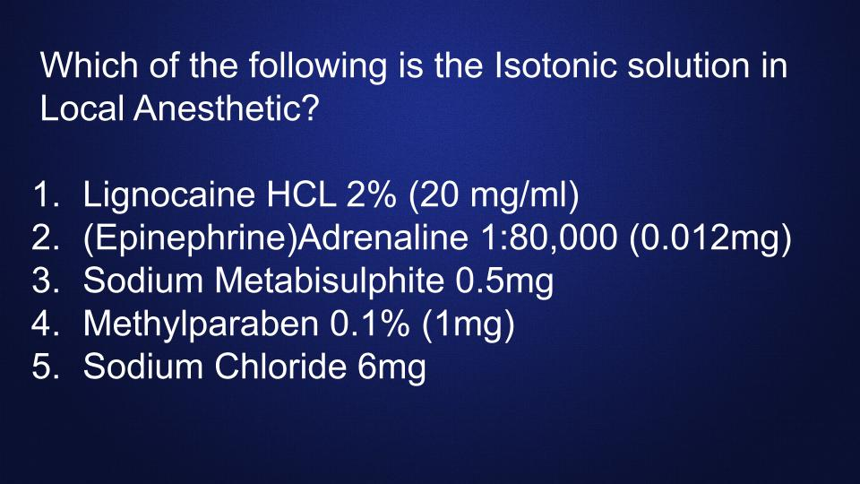 isotonic-solution-composition-local-anes